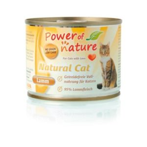 Power of Nature Natural Cat - jagnięcina 200 g