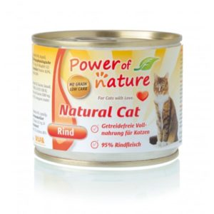 Power of Nature Natural Cat - wołowina 200 g