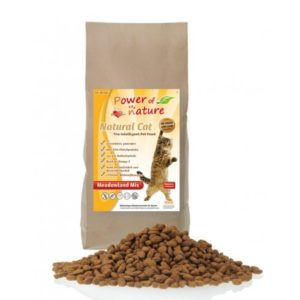 Power of Nature Natural Cat Meadowland Mix – kurczak indyk łosoś 7,5 kg