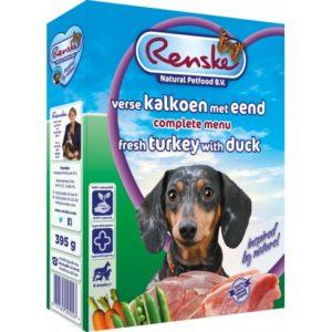 Renske Fresh - mokra karma dla psa - indyk i kaczka, 395g