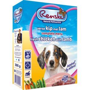 Renske Fresh Puppy mokra karma dla psa - jagnięcina i kurczak 395g