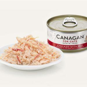 Canagan - Kurczak z wołowiną - 75g