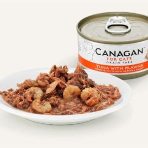 Canagan - Tuńczyk z krewetkami - 75g