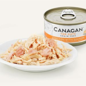 Canagan - Kurczak z łososiem - 75g