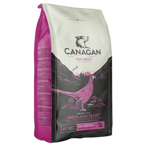 Canagan - HIGHLAND FEAST- 12 kg - karma sucha dla psa