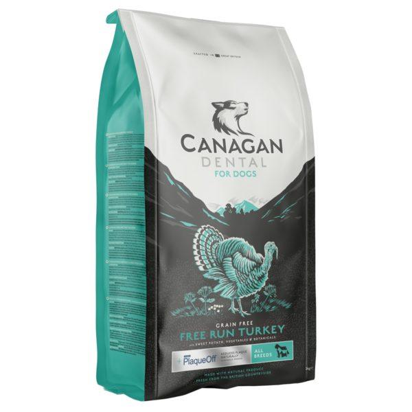 Canagan - FREE RUN TURKEY DENTAL - 6 kg - karma sucha dla psa