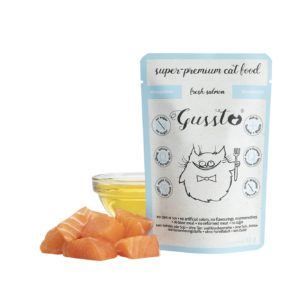 Gussto - świeży łosoś - 85g